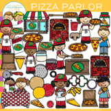 Pizza Parlor Clip Art {Dramatic Play Pizza Clip Art}