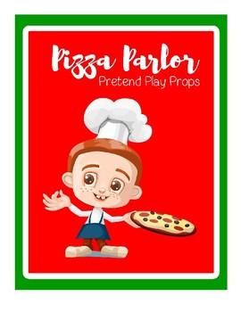 Pizza Parlor Pretend Play Printables - Restaurant Dramatic