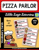 Pizza Parlor Vocabulary Cards