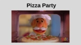 Pizza Party - AAC Visual Supports with Core Vocabulary