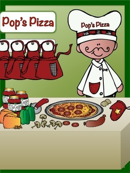 Pizza Party Find, Count, & Graph Math Activity {Graphing} 6 Different Ones