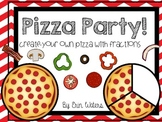 Pizza Party! Fraction Pizza Shop Craftivity