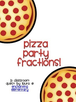 Pizza Party Fractions Classroom Quest