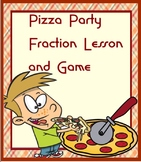 Pizza Party Fractions Minilesson and Game SMARTBOARD