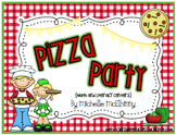Pizza Party {Math and Literacy Centers}