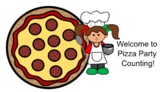 Pizza Party Number Activities for Interactive White Board