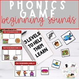 Pizza Party Phonics Beginning Sounds Game