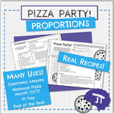 Pizza Party - Proportions and Recipes