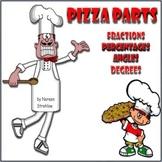 Pizza Percents & Fractions
