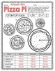 Pizza Pi - Finding Diameter and Circumference Printable