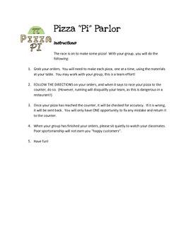 """Pizza """"Pi"""" Parlor"""