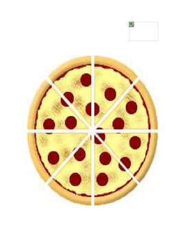 Pizza Pie Fraction Subtraction