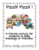 Pizza Pizza Fraction Activity
