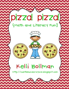 Pizza! Pizza! {Math and Literacy Fun}