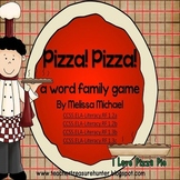 Pizza! Pizza! a word family game *14 word families *56 words CCSS