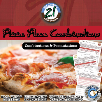 Pizza Place Combinations -- Combinations and Permutations - Math Projects