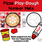 Play-Dough Math Mats - Number Sense, Set 4