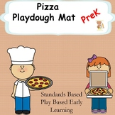 Pizza Playdough Mat