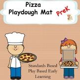Pizza Playdough Mat