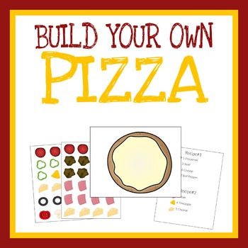 Pizza Pretend Play, Dramatic Play, Printable Worksheets, Quiet Book Activity