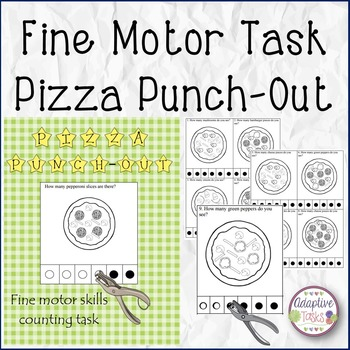 FINE MOTOR SKILL Pizza Punch-Out