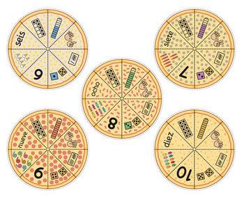 Pizza Puzzle - Juego del Sentido Numérico 1-10