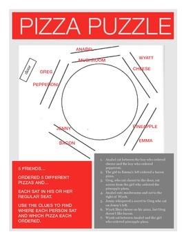 Pizza Puzzle Solution