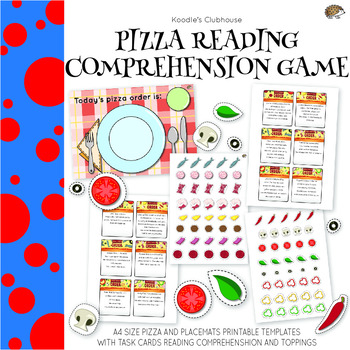 image about Printable Pizza Toppings identify Pizza Toppings Clipart Worksheets Coaching Materials TpT