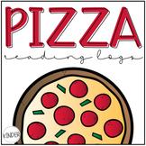 Pizza Reading Logs & Parent Letter {Editable & BOOK IT! Compatible}