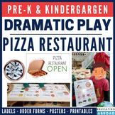 Pizza Dramatic Play PreK & Kindergarten Activity (Printable Realistic Images)