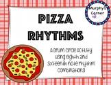 Pizza Rhythms- A World Drumming Activity