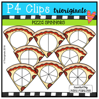 Pizza SPINNERS (P4 Clips Trioriginals)