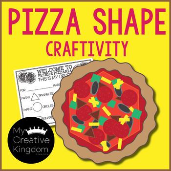 Pizza Shape Craft