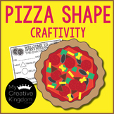 Pizza Shape Craft