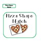 Pizza Shape Match File Folder Game