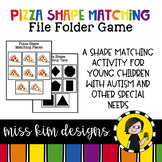 Folder Game: Pizza Shape Matching for Students with Autism & Special Needs