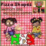 Pizza Shapes Memory and Matching Games