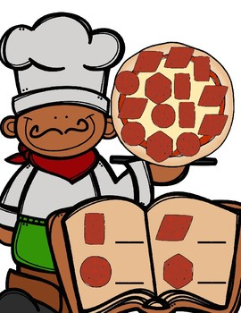 Pizza Shapes--Two Dimensional Shape Centers for Your K-1 Class