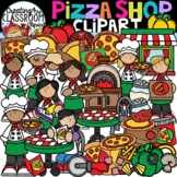 Pizza Shop Clipart {Build a Pizza Clipart}