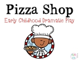 Pizza Shop Dramatic Play for the Early Childhood Classroom