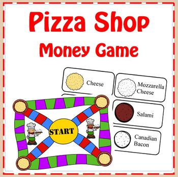 Pizza Shop Money Game