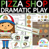 Pizza Shop dramatic play. Pizza Parlour pretend play / role play.