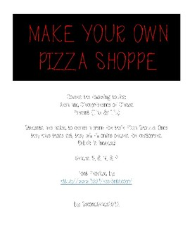 Pizza Shoppe Project