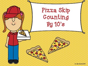 Pizza Skip Count by 10's