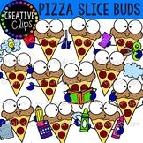 Pizza Slice Buds {Pizza Clipart}