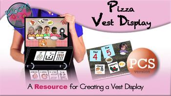 Pizza Chant - Vest Display - PCS