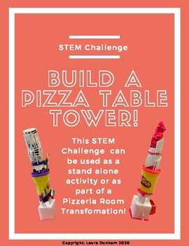 Pizza Stem Challenge