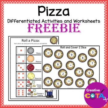 Pizza Theme Freebie