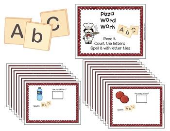Pizza Centers for Preschool and Kindergarten