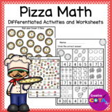 Pizza Theme Math Differentiated